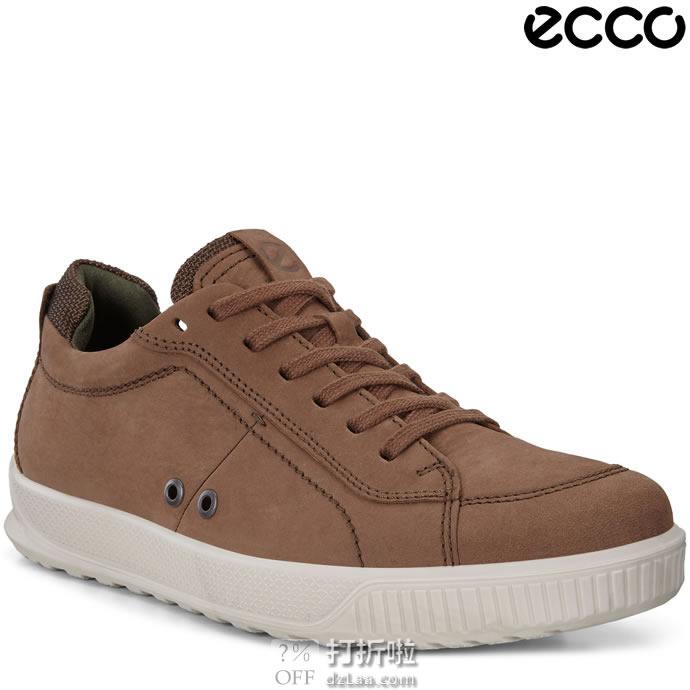 ECCO 爱步 Byway 男式系带休闲板鞋 40码4折$55.52 海淘转运到手约¥483