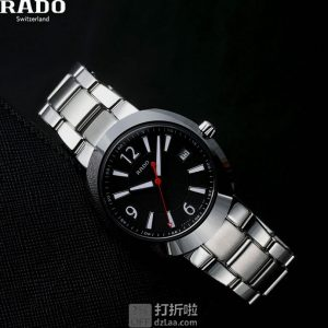 RADO D-Star 雷达表 陶瓷不锈钢 R15945153 男式手表 2.5折$348 海淘转运关税补贴到手约¥2603 国内¥6200
