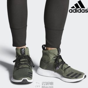 adidas 阿迪达斯 edgebounce 中帮女子跑步运动鞋 BB7553 38码3折$32.92 海淘转运到手约¥323