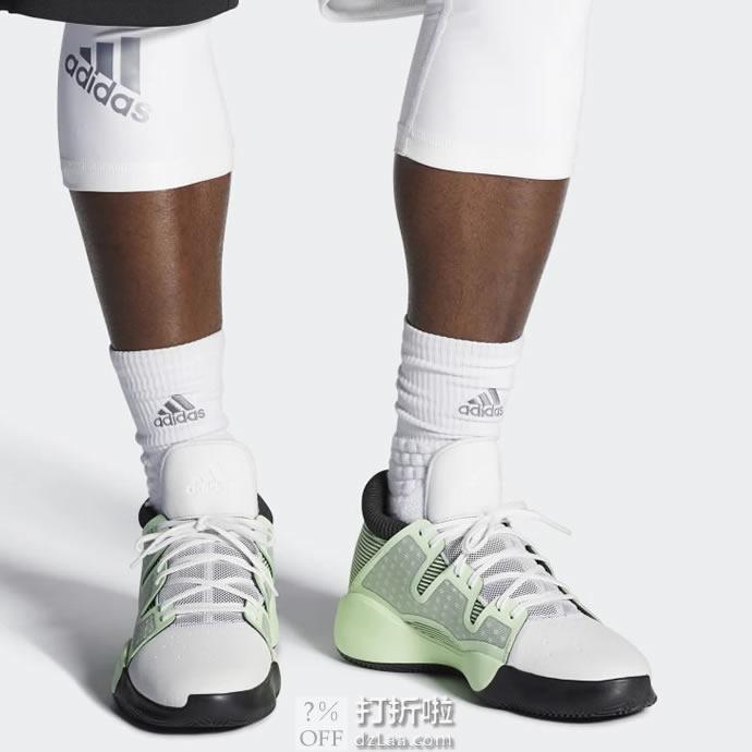 Adidas 阿迪达斯 Pro Vision 19年款 男子篮球鞋 D96945 42码3.7折$37.29 海淘转运到手约¥354