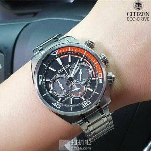 Citizen 西铁城 Chandler系列 CA4330-57E 3眼计时 光动能男式手表 优惠码折后$85.49 海淘转运关税补贴到手约¥746