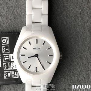 Rado 雷达表 Specchio系列 陶瓷女式手表 R31509102 优惠码折后$189史低 海淘关税补贴到手约¥1480