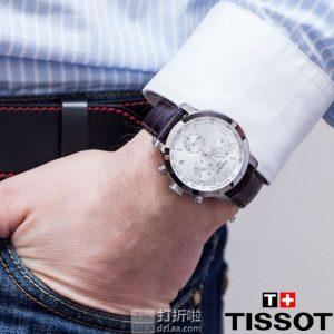 Tissot 天梭 骏驰200系列 T055.417.16.037.00 三眼计时 男式石英手表 优惠码折后$199.99 海淘转运关税补贴到手约¥1557