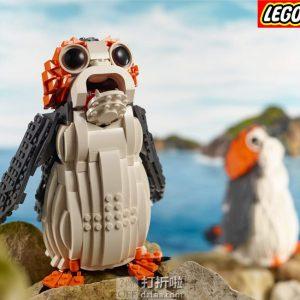 LEGO 乐高 星球大战系列 75230 萌萌波尔格鸟 积木玩具 5折$34.99史低 海淘转运到手约¥311