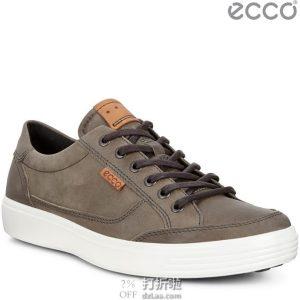 ECCO 爱步 SOFT 7 柔酷7 男式休闲板鞋 3.7折$55.74 海淘转运到手约¥485