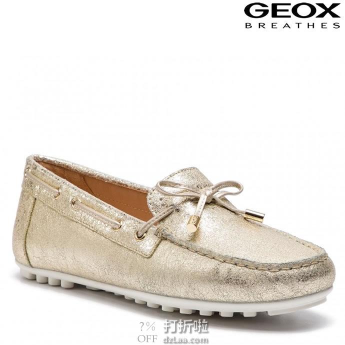 GEOX 健乐士 Leelyan 6  女式乐福鞋 豆豆鞋 36码2.9折$44.12 海淘转运到手约¥402