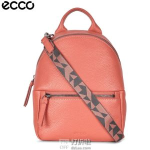 ECCO 爱步 SP 3 Mini 迷你时尚双肩背包 9105533 2.5折$62.74史低 海淘转运到手¥485 天猫¥2014