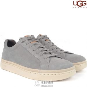 UGG Cali 男式低帮系带休闲鞋 4.9折$58.95 海淘转运到手约¥506 国内¥846