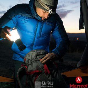 双11预告 Marmot 土拨鼠 Guides 700蓬鹅绒 户外男式连帽羽绒服 V73067 ¥848包邮(限前30分钟)3色可选