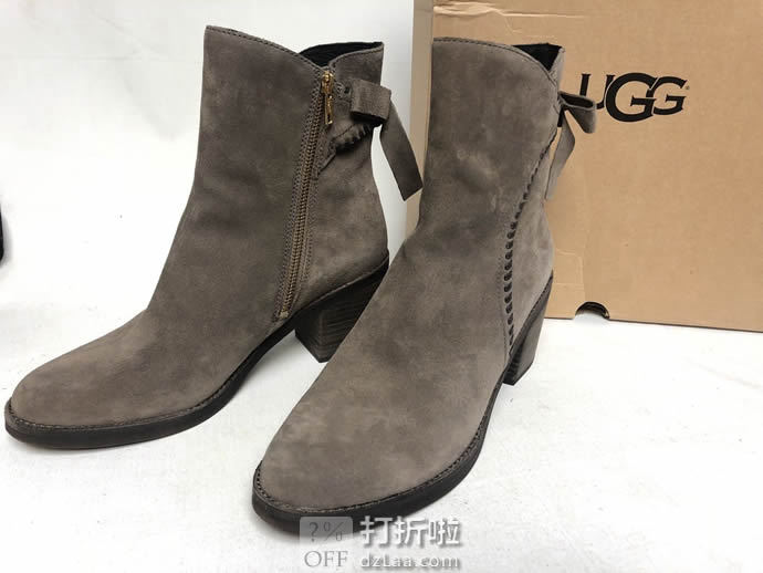 UGG Fraise 蝴蝶结装饰 女式短靴 6码2.8折$52.08 海淘转运到手约¥487