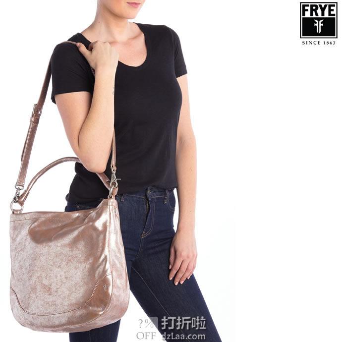 FRYE 弗莱 Melissar 女式流浪包 单肩包 4.5折$174.58 海淘转运到手约¥1311 中亚Prime会员免运费直邮到手约¥1394
