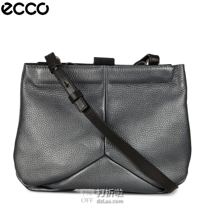 ECCO 爱步 19年款 Ella 艾拉 女式挎包 2.3折$60.4史低 海淘转运到手¥465