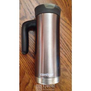 Contigo 康迪克 SnapSeal Superior 591ml 带提手不锈钢真空保温杯 4.8折$7.19 海淘转运到手约¥74