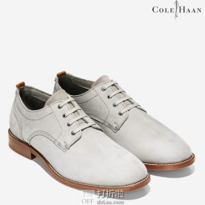 Cole Haan 可汗 Feathercraft Grand Blucher 男式牛津鞋 40码2.9折$53.44 海淘转运到手约¥465