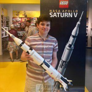 LEGO 乐高 Ideas系列 21309 美国宇航局阿波罗土星五号火箭 积木玩具 多重优惠折后¥569
