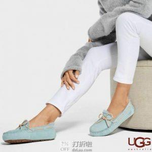 断码 UGG 女式乐福鞋 豆豆鞋 5612 7折$69.99 海淘转运到手约¥578 国内¥1030