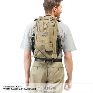 Maxpedition 美国马盖先 Pygmy 猎鹰2代简化版 战术双肩包 6.8折$83.76 海淘转运到手约¥644 中亚Prime会员免运费直邮到手约¥650