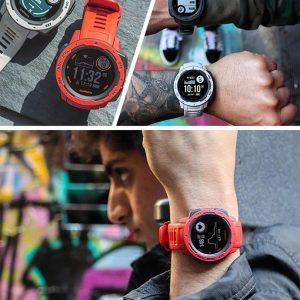 Garmin 佳明 Instinct 本能 三防户外时尚运动手表 GPS手表 支持心率 6.7折$199.99史低 多色可选 海淘转运关税补贴到手约¥1523