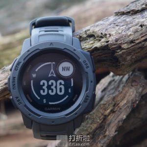 Garmin 佳明 Instinct 本能 三防户外时尚运动手表 GPS手表 支持心率 5折$149.99 海淘转运关税补贴到手约¥1106
