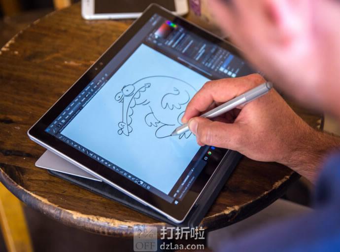 微软认证翻新 Microsoft 微软 Surface Pro 4 中文版 12.3英寸二合一平板电脑(i7/16GB/256GB/含触控笔)¥5129