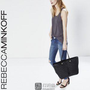 Rebecca Minkoff Everywhere 瑞贝卡明可弗 菱格纹 女式手提包 2.1折$69.26史低 海淘转运到手约¥556