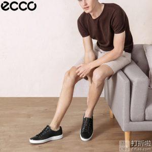 ECCO 爱步 SOFT 7 柔酷7号 编织款 男式板鞋 休闲鞋 44码3.2折$55.23 海淘转运到手约¥477