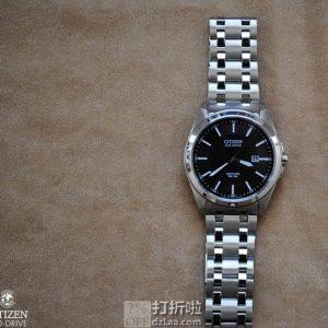 金盒特价 Citizen 西铁城 BM7100-59E 光动能 男式手表 3.9折$115.99 海淘关税补贴到手约¥948