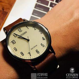 金盒特价 Citizen 西铁城 BJ6500-21A 男式光动能手表 3.1折$59.99史低 海淘转运关税补贴到手约¥556