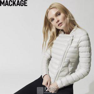 加拿大 Mackage Ulana 轻便时尚 女式羽绒服夹克 M码7.9折$253.98 海淘转运到手约¥1818 中亚Prime会员免运费直邮到手约¥1980