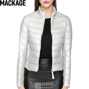 加拿大 Mackage Cindee 轻便时尚 女式羽绒服夹克 8折$256.63起 海淘转运到手约¥1836 中亚Prime会员免运费直邮到手约¥2002