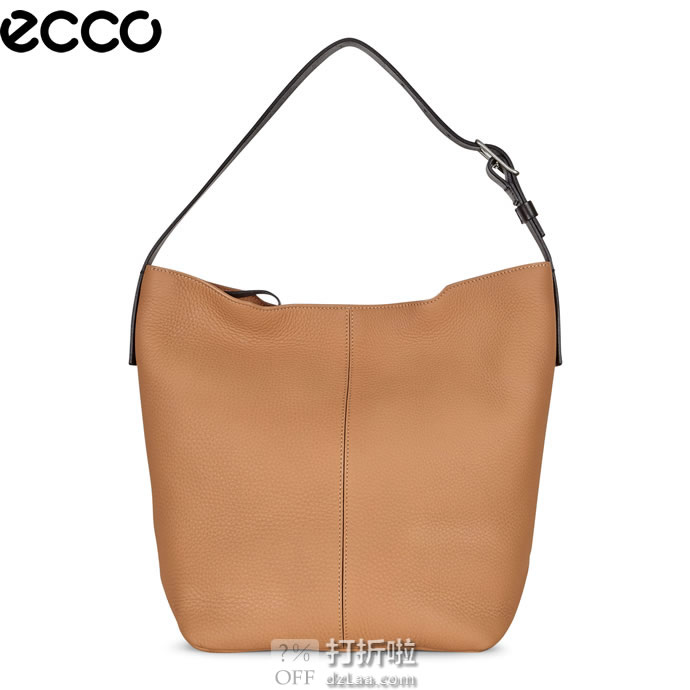 ECCO 爱步 Jilin 吉琳系列 女式单肩包 流浪包 2.1折.04史低 海淘转运到手约¥638