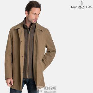 码全 London Fog 伦敦雾 Berne 全天候 男式风衣外套 2.2折$55 海淘转运到手约¥478