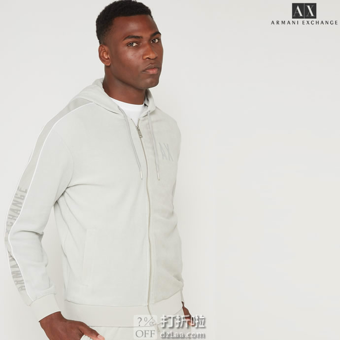 限尺码 Armani Exchange 阿玛尼 A|X 男式卫衣 3.1折$42.59起 海淘转运到手约¥345 国内¥850