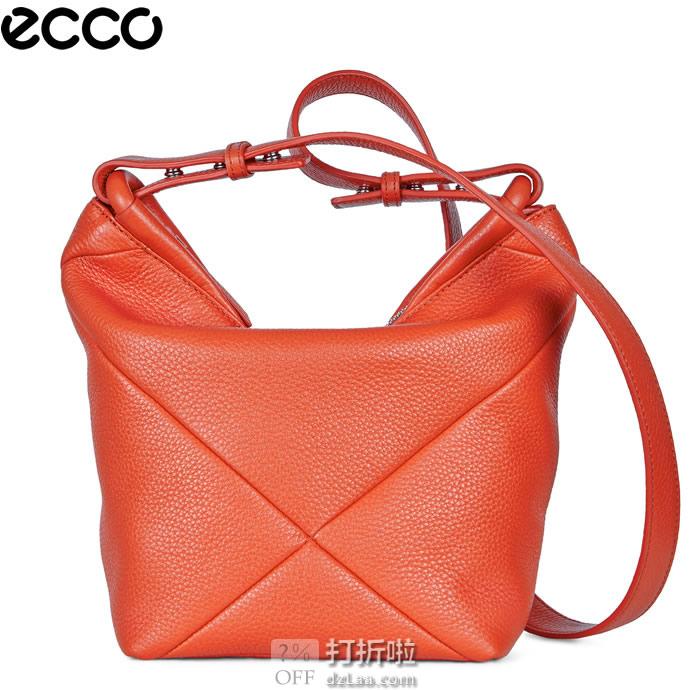 ECCO 爱步 Linnea 琳娜 斜挎水桶包 3.5折$97.99 海淘转运到手约¥729 天猫¥1379