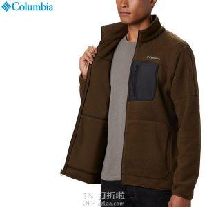 Columbia 哥伦比亚 Rugged Ridge 户外男式抓绒夹克 3.7折$22.28起 海淘转运到手约¥216