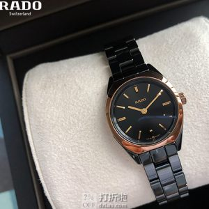 RADO 雷达表 SPECCHIO系列 R31988157 女式陶瓷腕表 1.3折$279史低 海淘关税补贴到手约¥2104