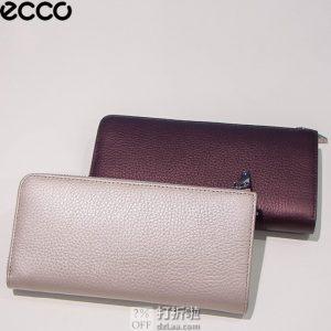 ECCO 爱步 SP 3 柔酷粒纹3 女式长款钱包 手拿包 1.8折$28.04 海淘转运到手¥213