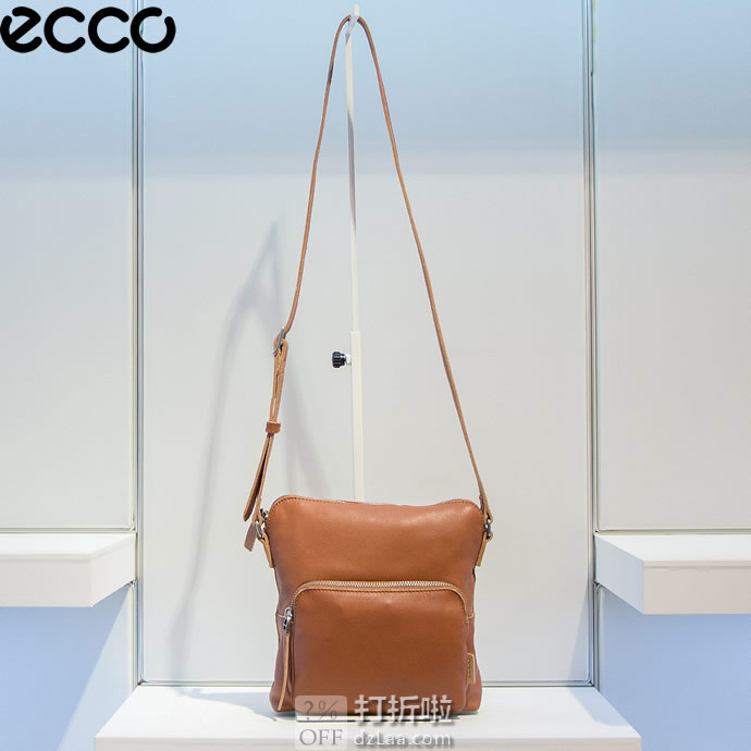 ECCO 爱步 Casper 女式挎包 2.5折.61 海淘转运到手约¥447