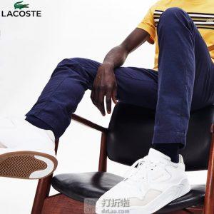 LACOSTE 法国鳄鱼 Court Slam 复古男式板鞋 42码3.4折$39.13 海淘转运到手约¥368