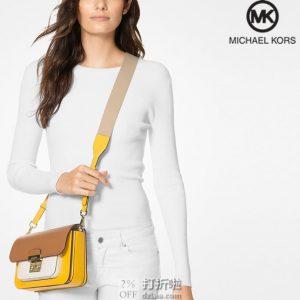 Michael Kors 迈克·科尔斯 Sloan Editor系列 MK 拼色女式挎包 5折$149.01 海淘转运到手约¥1088