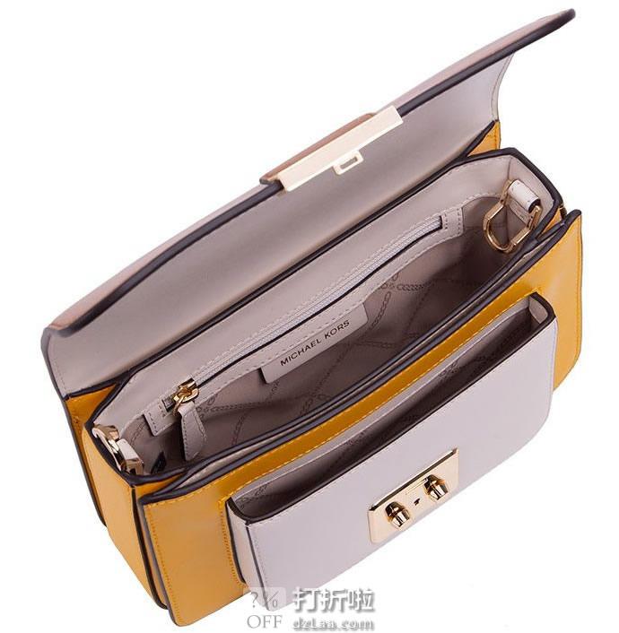 Michael Kors 迈克·科尔斯 Sloan Editor系列 MK 拼色女式挎包 5折9.01 海淘转运到手约¥1088