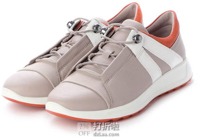 ECCO 爱步 Flexure Runner II 女式休闲鞋 36码2.6折.34 海淘转运到手约¥416