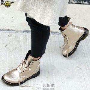 Dr. Martens 1460 Pascal系列 闪光版 女式马丁靴 8折$95.99 海淘转运到手约¥789