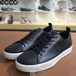ECCO 爱步 Soft 8 柔酷8号 混合鞋面 女式运动休闲鞋 36码2.5折$45.14 海淘转运到手约¥404