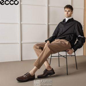 ECCO 爱步 Seattle 西雅图 系带正装男鞋 43码4.2折$75.11 海淘转运到手约¥584