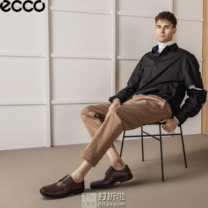 ECCO 爱步 Seattle 西雅图 系带正装男鞋 3.2折$57.76起 海淘转运到手约¥486