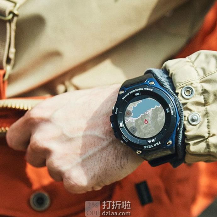 Casio 卡西欧 Pro Trek系列 WSD-F20A-BUAAU 户外智能GPS运动手表 3.3折9.97史低 海淘关税补贴到手约¥1032
