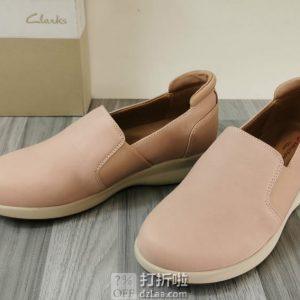 限尺码 Clarks 其乐 Un系列 Adorn Step 一脚套 女式乐福鞋 单鞋 2折$26.38起 海淘转运到手约¥273
