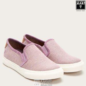 FRYE 弗莱 Gia 女式帆布板鞋 休闲鞋 3.2折$31.55起 海淘转运到手约¥308