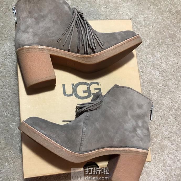 UGG Corin 埃莉系列 流苏高帮鞋 5码2.1折.28 海淘转运到手约¥385